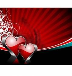 Valentine's day illustration vector image