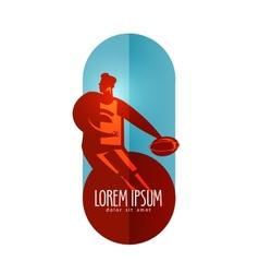 Basketball logo design template sports or vector image