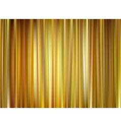 gold curtain vector image