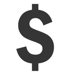 Money black symbol over white background vector