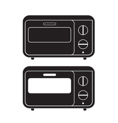 oven icon flat sign vector image