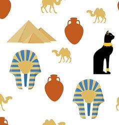 Egypt seamless pattern vector