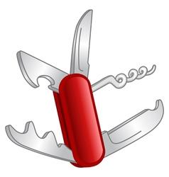 pocket knife vector image