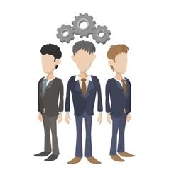 Human resources icon cartoon style vector image vector image