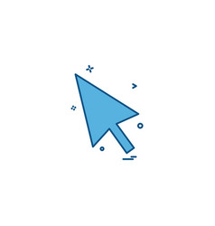 arrows icon design vector image