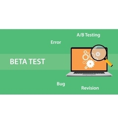 Beta testing concept for programming vector