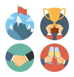 business leadership vector image