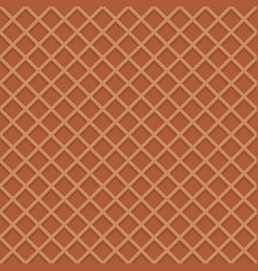 chocolate wafer background vector image