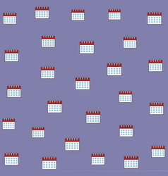date calendar background cartoon vector image