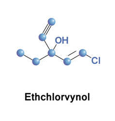 Ethchlorvynol gaba-ergic sedative vector