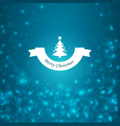 festive bright christmas poster vector image