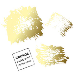 grunge banner abstract template vector image vector image