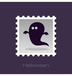 Halloween Ghost stamp vector image