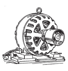 Induction motor vintage vector