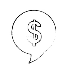 money sign icon image vector image
