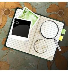 organizer vector image