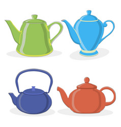 the tea vector image