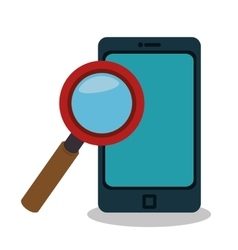 smartphone technology portable icon vector image