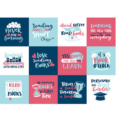 Imagination concept love reading motivation hand vector