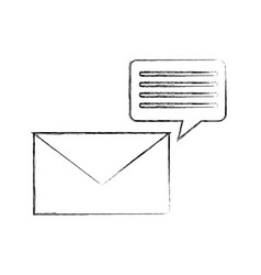 information mail messages vector image