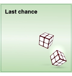 Last chance icon vector image