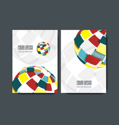 modern design templates for a4 covers vector image