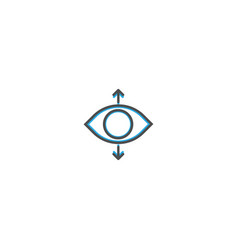 perspective icon design essential icon vector image