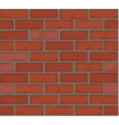 seamless brick wall pasttern vector image