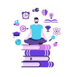 study and education concept study and education vector image