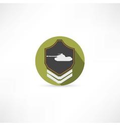 tank icon vector image