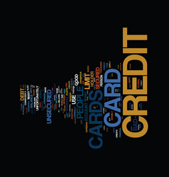 The bad credit card that may do good secured vector