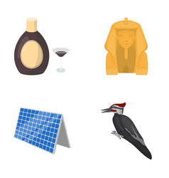 nature trade tourism and other web icon in vector image