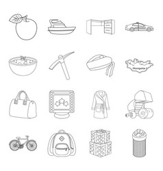 Service education finance and other web icon in vector