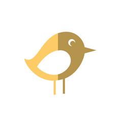 Bird social media vector