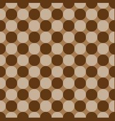 polka dot geometric seamless pattern 402 vector image vector image
