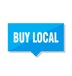 Buy local price tag vector