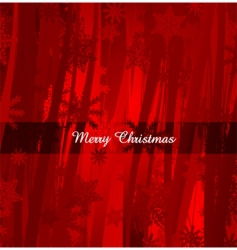 Christmas design background vector image