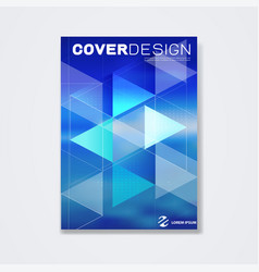 cover template brochure template layout book vector image