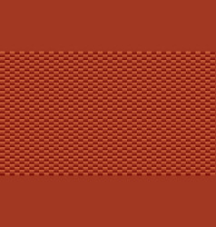 red brick plastic texture repeat carbon block vector image