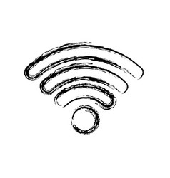 Wifi signal icon vector