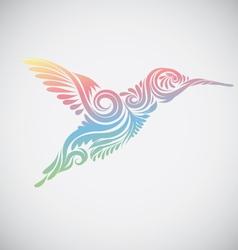 Hummingbird Ornamental vector image vector image