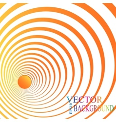 3d perspective circle background vector image vector image