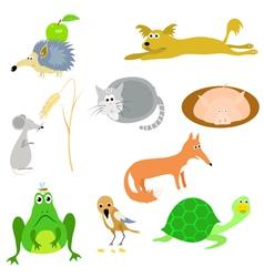 set of animals EPS10 vector image