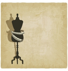 sewing background vector image vector image