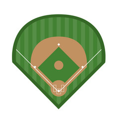 baseball related icon image vector image