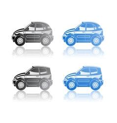 Hatchback vector image