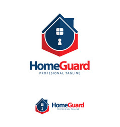 icon symbols home guard key logo design template vector image