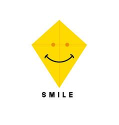 Smile template design vector