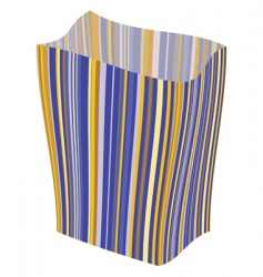striped package vector image