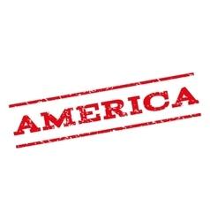 America Watermark Stamp vector